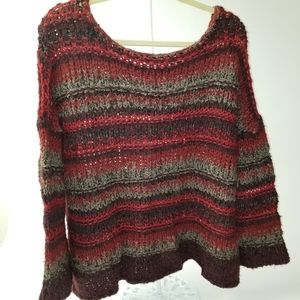 Free People Chunky Loose Knit sweater M